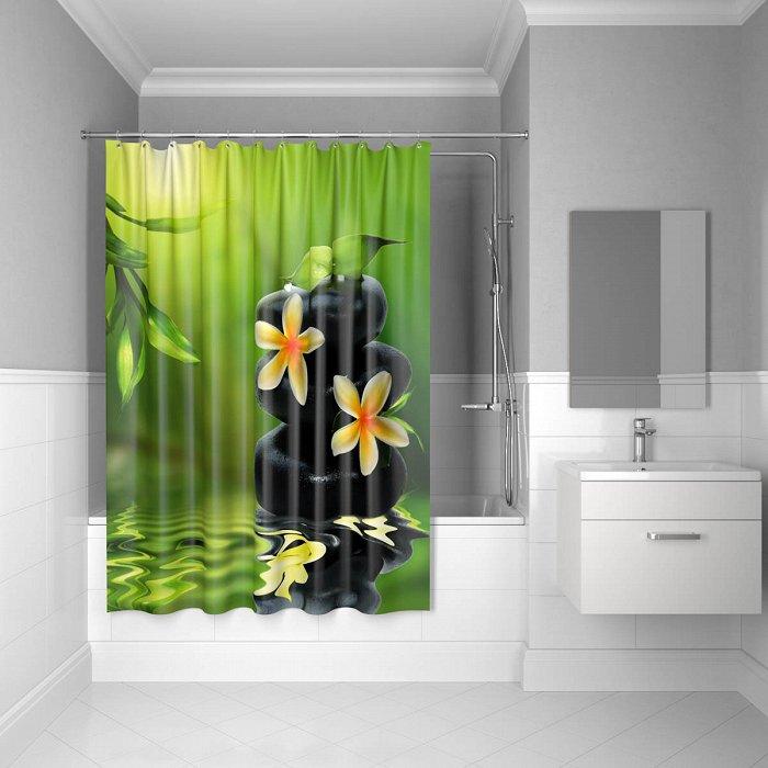 Штора для ванной комнаты IDDIS Spa Therapy 180*200 см полиэстер