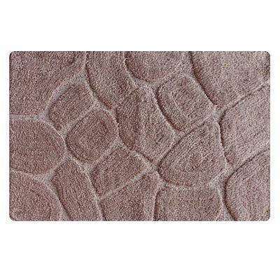 MID200M, grey stones, Коврик для ванной комнаты, 50*80 см, микрофибра, ID