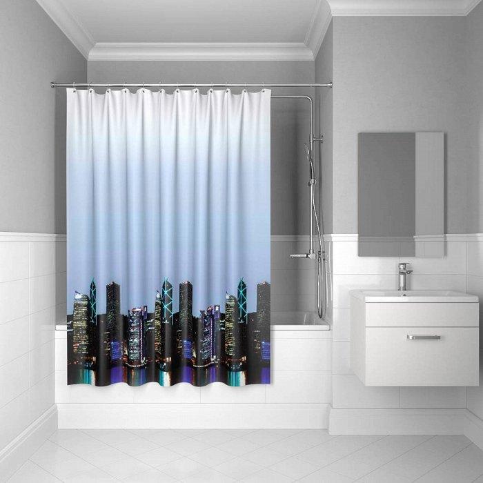 Штора для ванной комнаты IDDIS City 200*240 см city (210P24RI11)