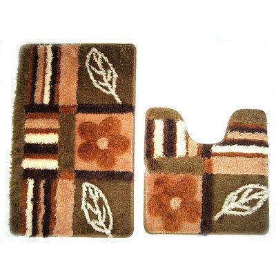 MID130AS, nature solo, Набор ковриков для ванной комнаты, 50*80+50*50 см