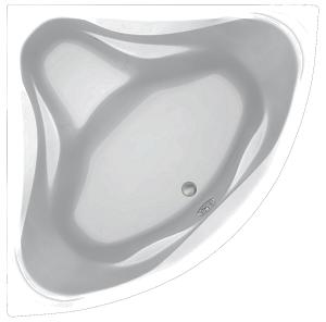 Акриловая ванна C-Bath Aurora CBS001002 130 х 130 см, белая