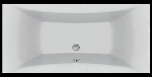 Акриловая ванна C-Bath Talia CBQ004003 190 х 90 см, белая