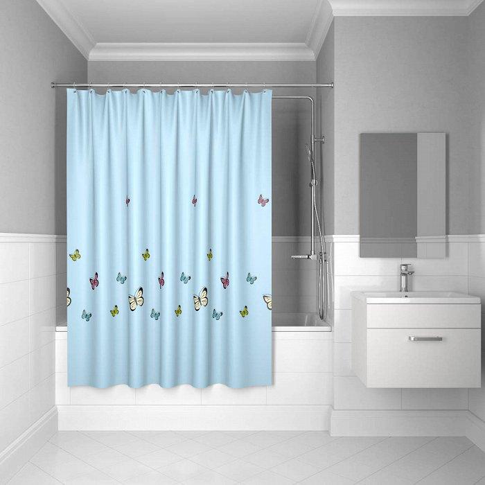Штора для ванной комнаты IDDIS Butterfly 200*200 см