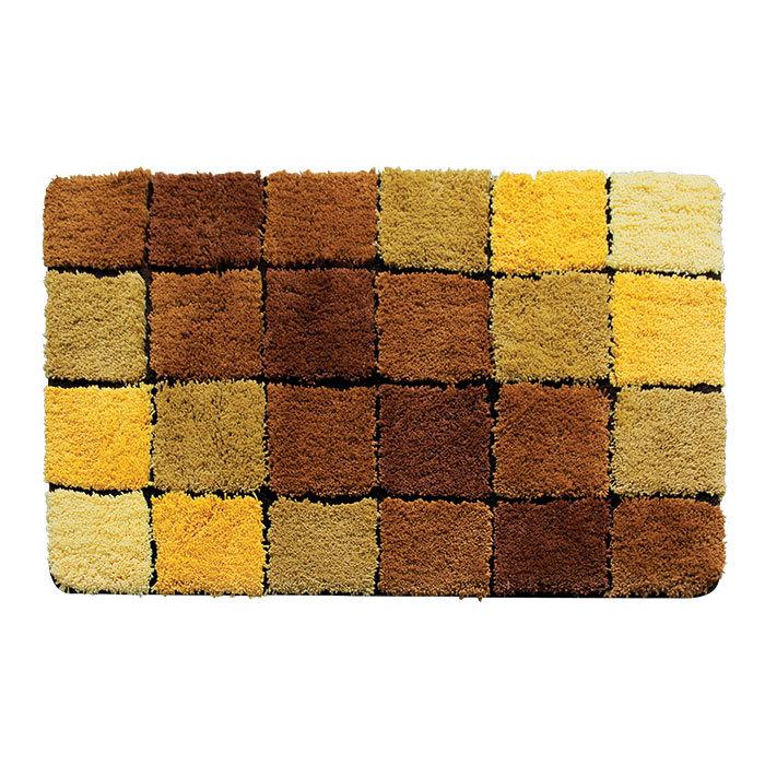 501M712i12, Коврик для ванной комнаты, 70*120 см, Микрофибра, Tender scotch brown, ID