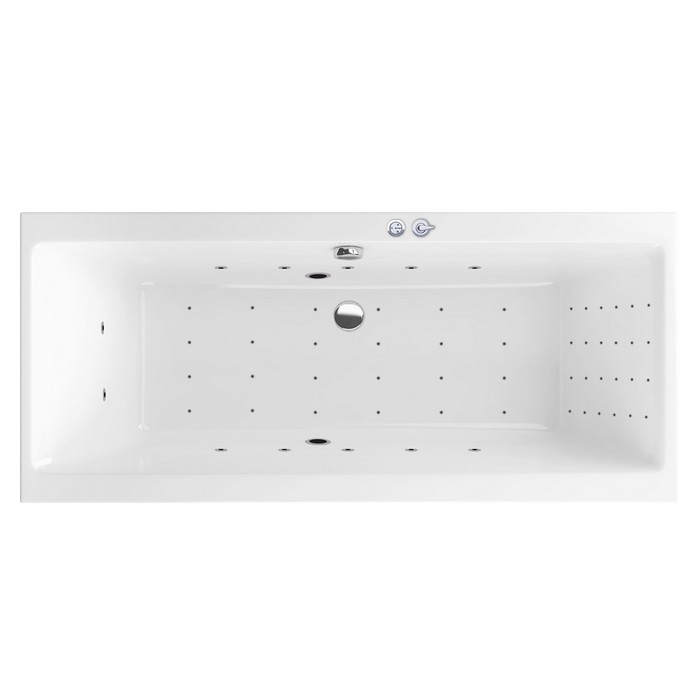 "Ванна EXCELLENT Pryzmat Slim 180x80 ""NANO"" (хром)"