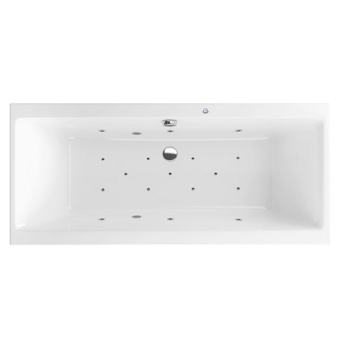 "Ванна EXCELLENT Pryzmat Slim 180x80 ""RELAX"" (хром)"