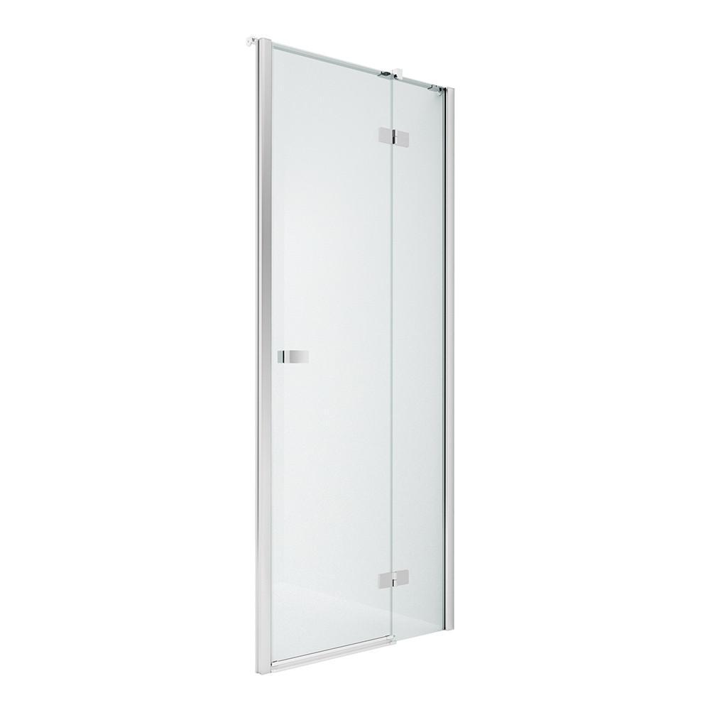 Дверь в нишу NEW TRENDY REFLEXA R 130x200 EXK-1215 (хром)
