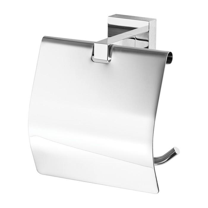 Держатель туалетной бумаги закрытый OMNIRES LIFT (хром)