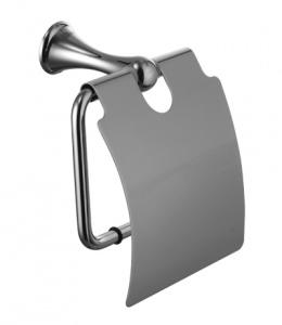 Держатель для туалетной бумаги с крышкой Lemark Standard