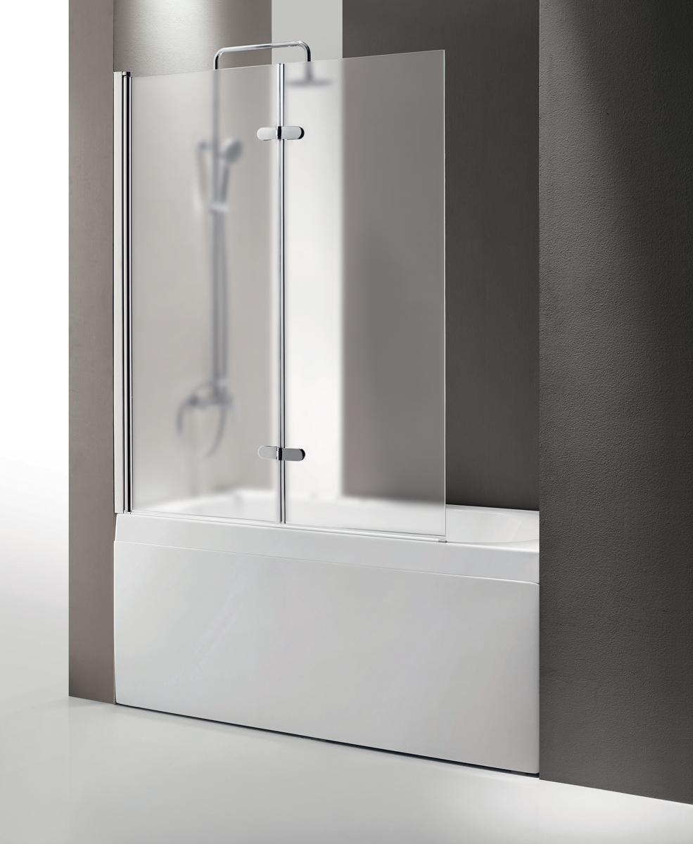 Душевая шторка на ванну CEZARES ECO-O-V-21-120/140-P-Cr-R