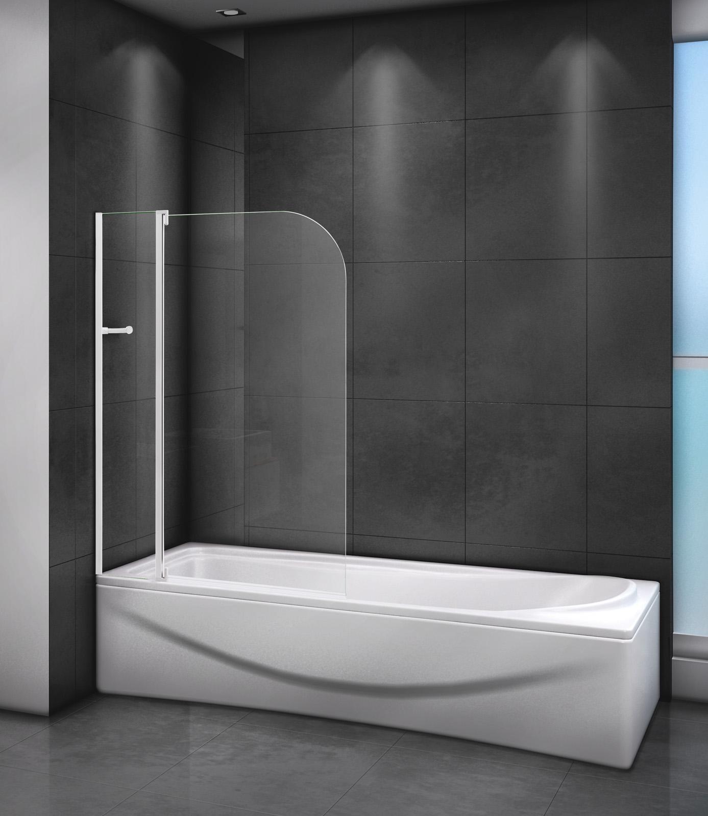 Шторка на ванну CEZARES RELAX-V-11-100/140-C-Bi