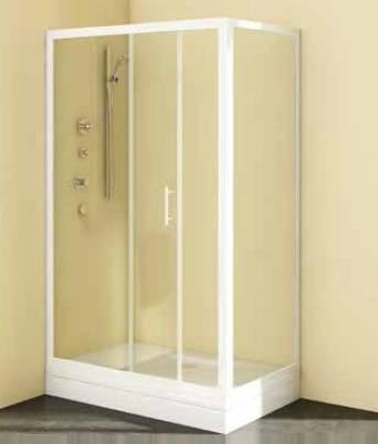 НЕПОДВИЖНАЯ ЧАСТЬ KOLPA SAN Q LINE TS 90 Подходит для душевых дверей Kolpa San серии  Q line TV/2D.